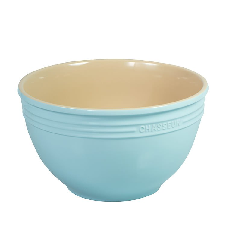 Chasseur La Cuisson Mixing Bowl 29cm - 7L Duck Egg Blue