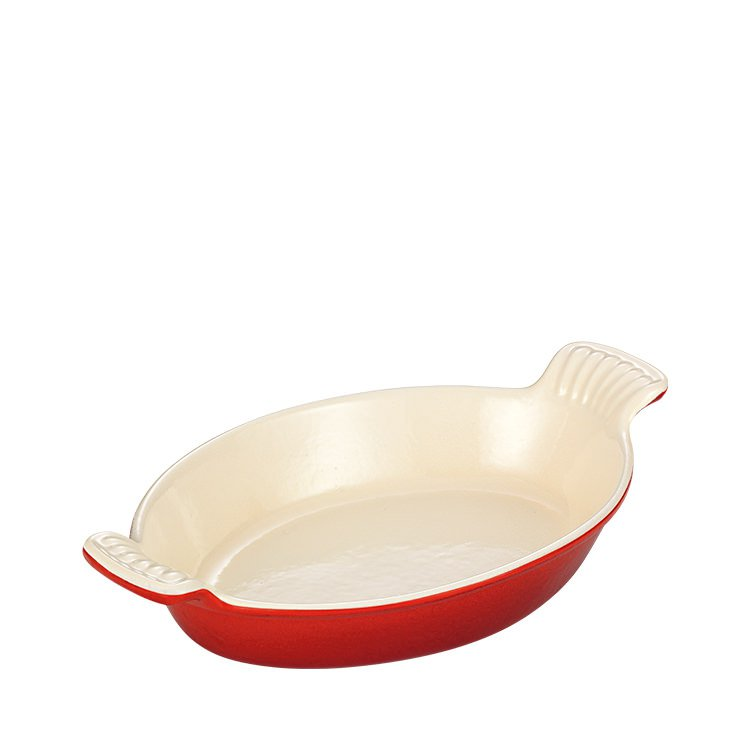 Chasseur Oval Dish 28cm Inferno Red