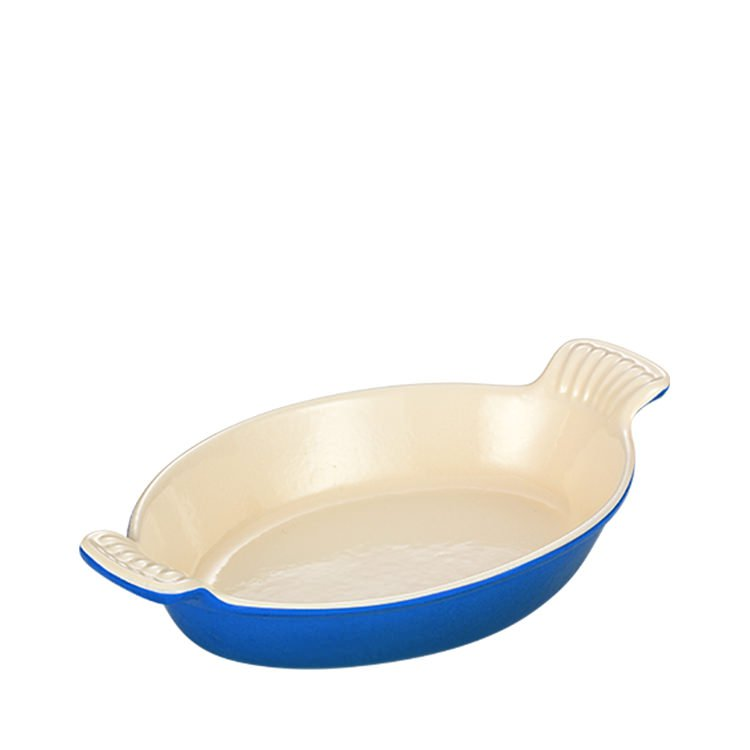 Chasseur Oval Dish 28cm Sky Blue