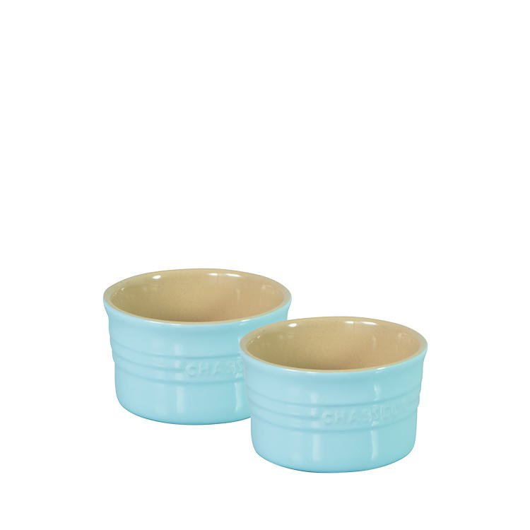 Chasseur La Cuisson Ramekin Set of 2 Duck Egg Blue