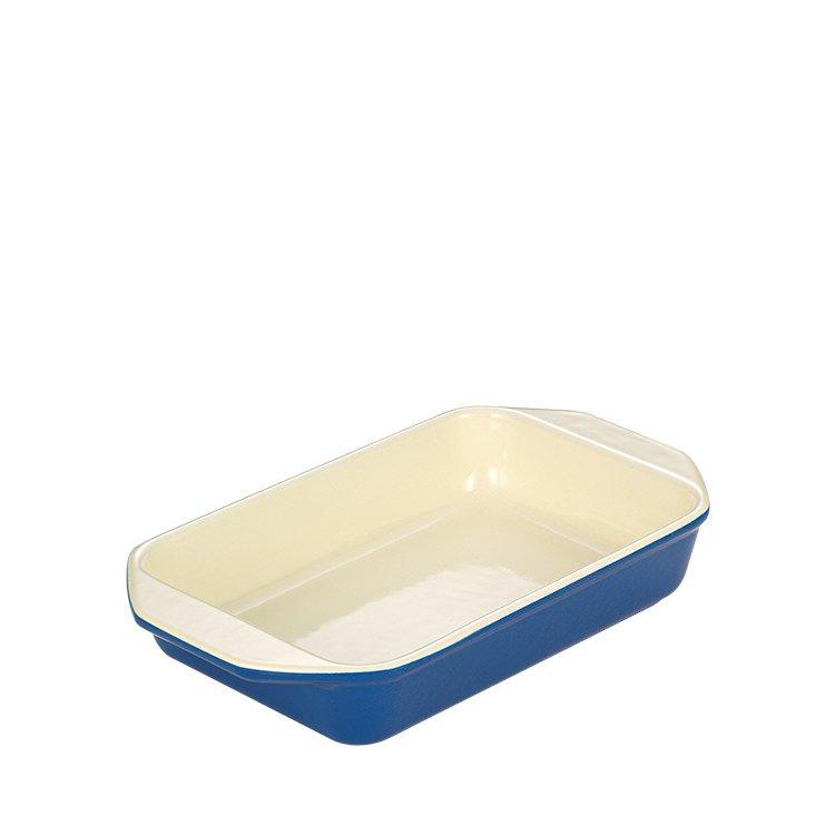 Chasseur Rectangular Dish 22cm Sky Blue