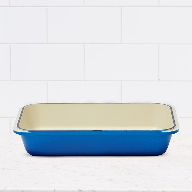 Chasseur Rectangular Roasting Pan 40x26cm Imperial Blue image #3
