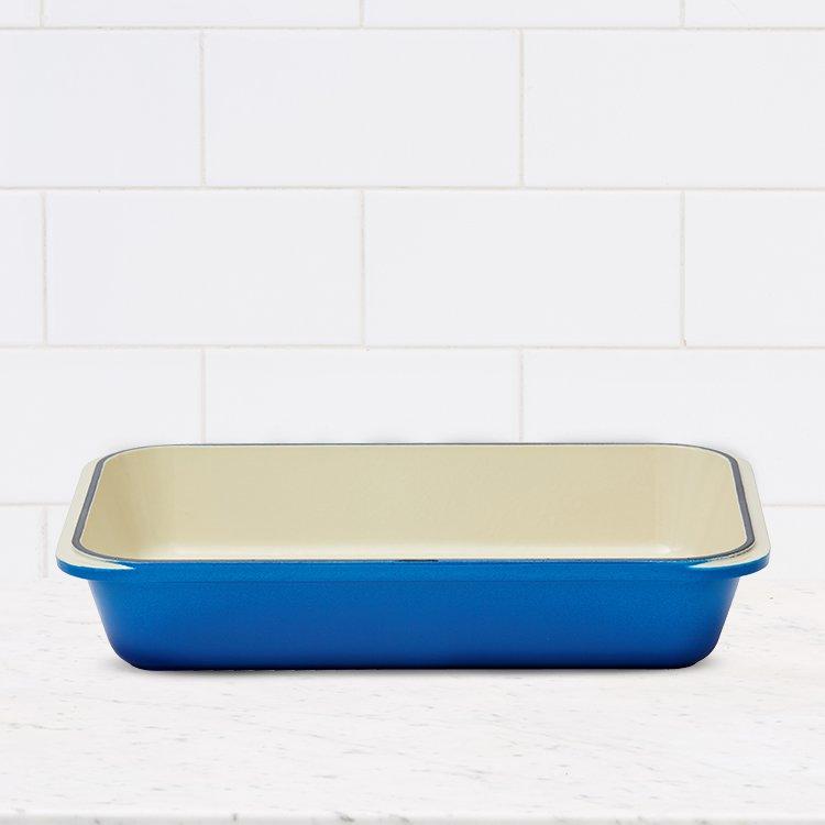 Chasseur Rectangular Roasting Pan 40x26cm Imperial Blue