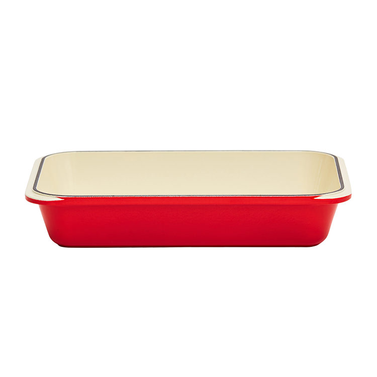 Chasseur Rectangular Roasting Pan 40x26cm Chilli Red