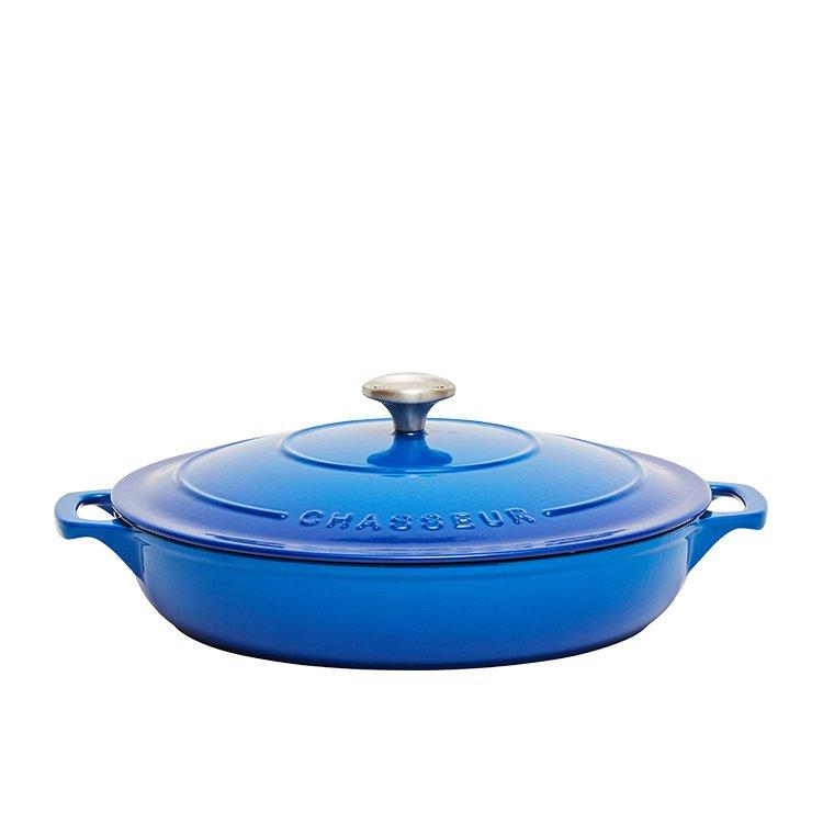 Chasseur Round Casserole 30cm - 2.5L Imperial Blue