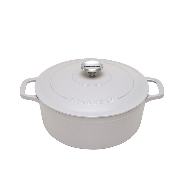 Chasseur Round French Oven 26cm - 5.2L Dusk Grey