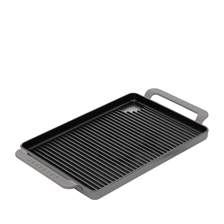 Chasseur Stove Top Grill 42x24cm Caviar