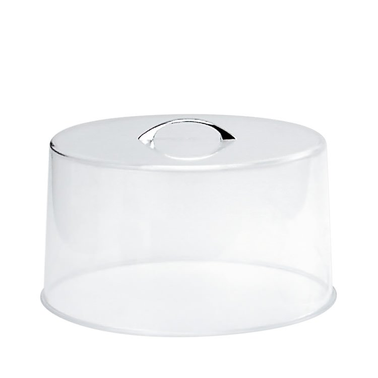 Chef Inox Acrylic Cake Cover w/ Chrome Handle