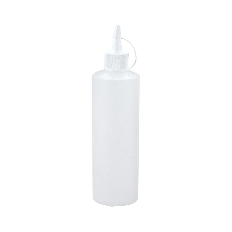 Chef Inox Clear Plastic Squeeze Bottle 1.0L