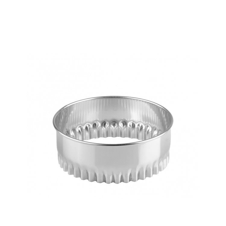Chef Inox Crinkled Biscuit Cutter 11cm