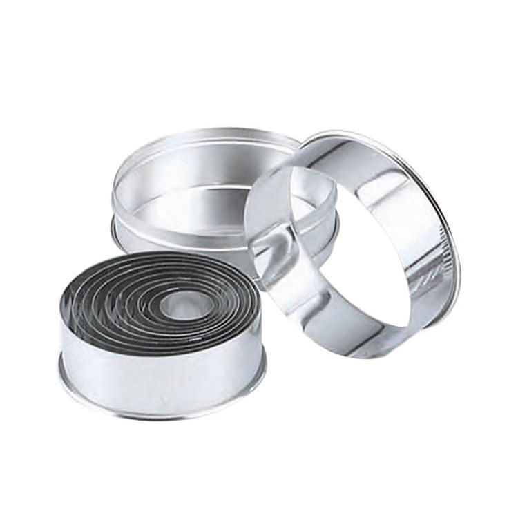 Chef Inox Cutter Plain Round S/S 14pc