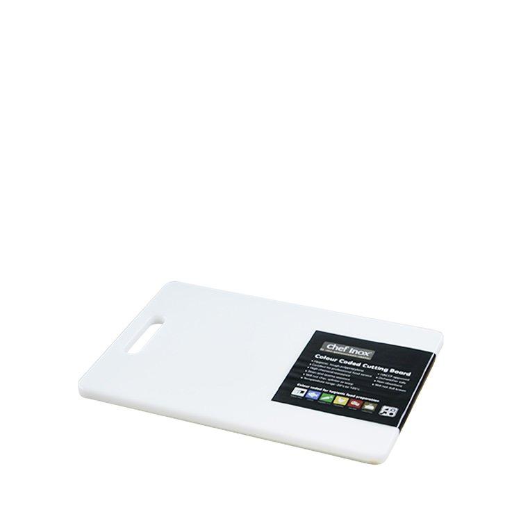 Chef Inox Cutting Board 200x270x12mm White