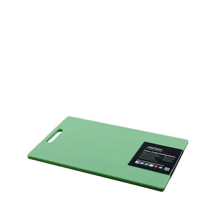 Chef Inox Cutting Board 230x380x12mm Green