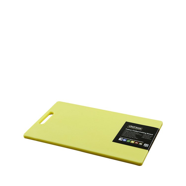Chef Inox Cutting Board 230x380x12mm Yellow