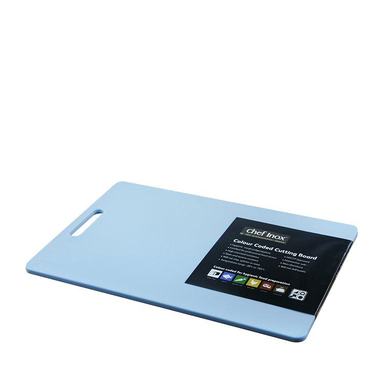 Chef Inox Cutting Board 300x450x12mm Blue