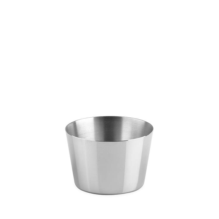 Chef Inox Pudding Mould S/S 6.5cm