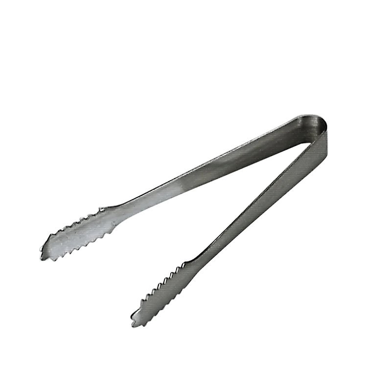 Chef Inox Stainless Steel Ice Tongs 175mm