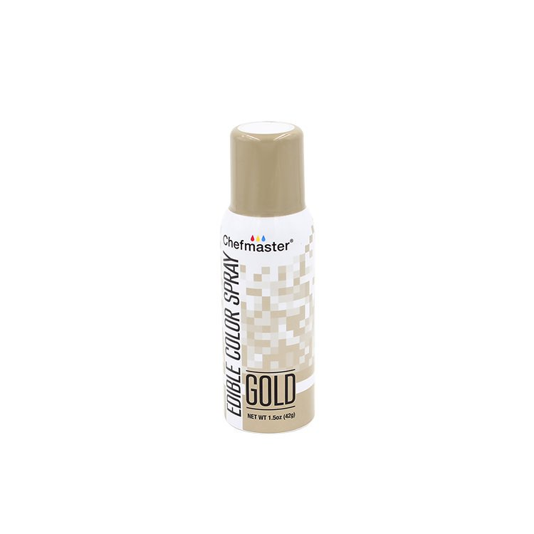 ChefMaster Edible Food Spray Gold 42g