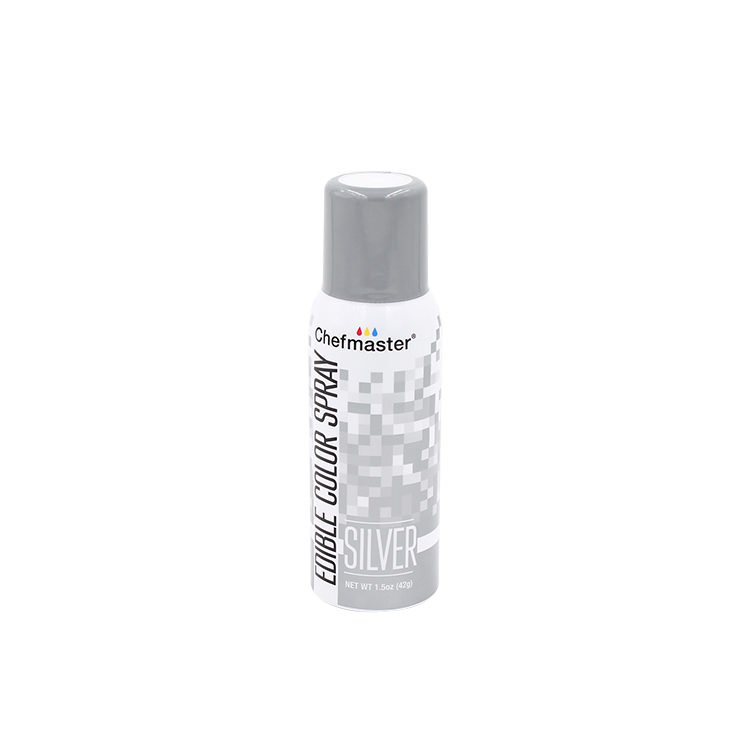 ChefMaster Edible Food Spray Silver 42g