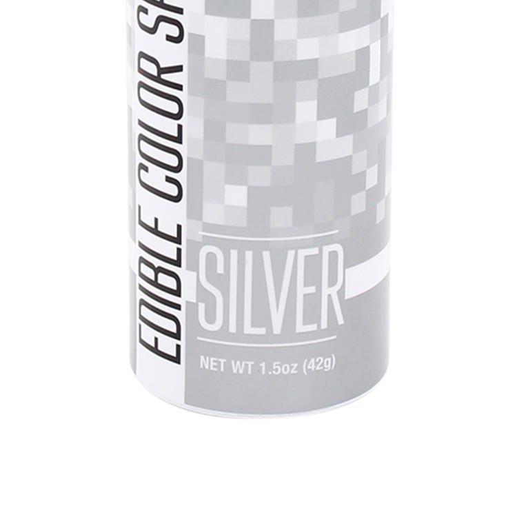 ChefMaster Edible Food Spray Silver 42g