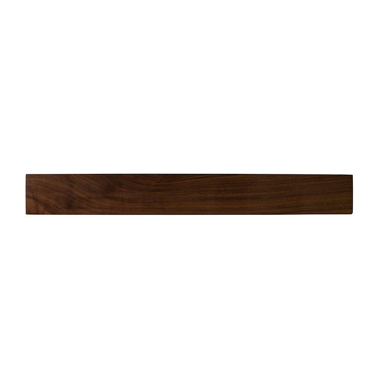 ChefTech Solid Magnetic Knife Rack 45cm Walnut