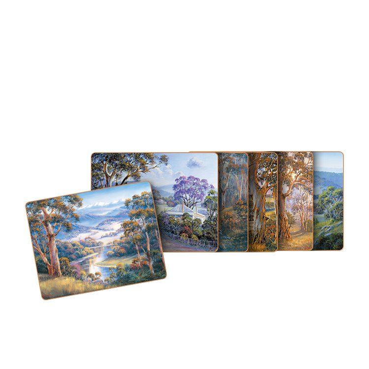 Cinnamon Bradley's Streams Coasters Set of 6