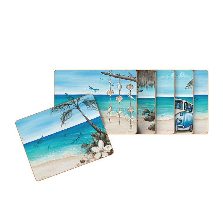 Cinnamon Paddle Bliss Coasters Set of 6