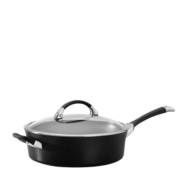 Circulon Symmetry Covered Saute Pan 4.7L Black
