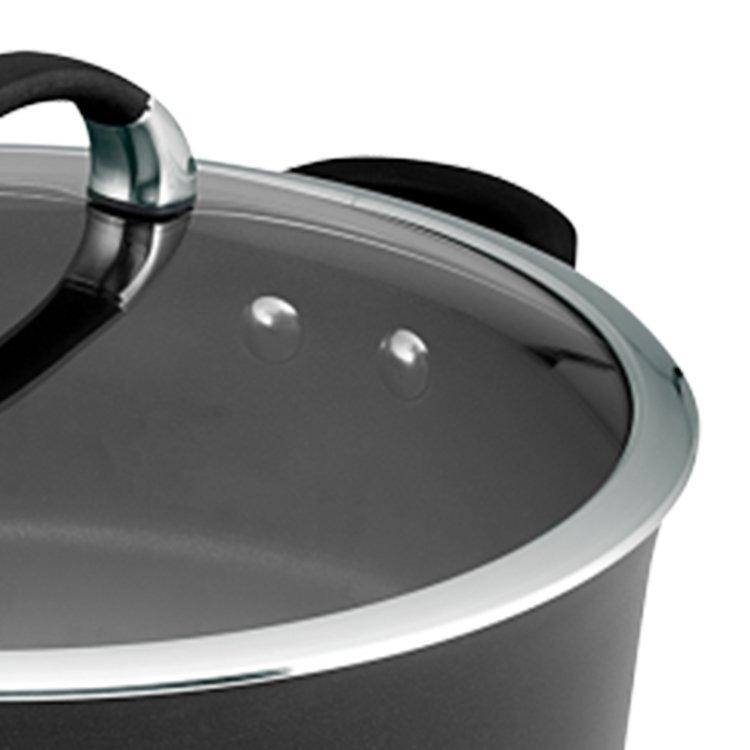 Circulon Symmetry Covered Saute Pan 4.7L Black