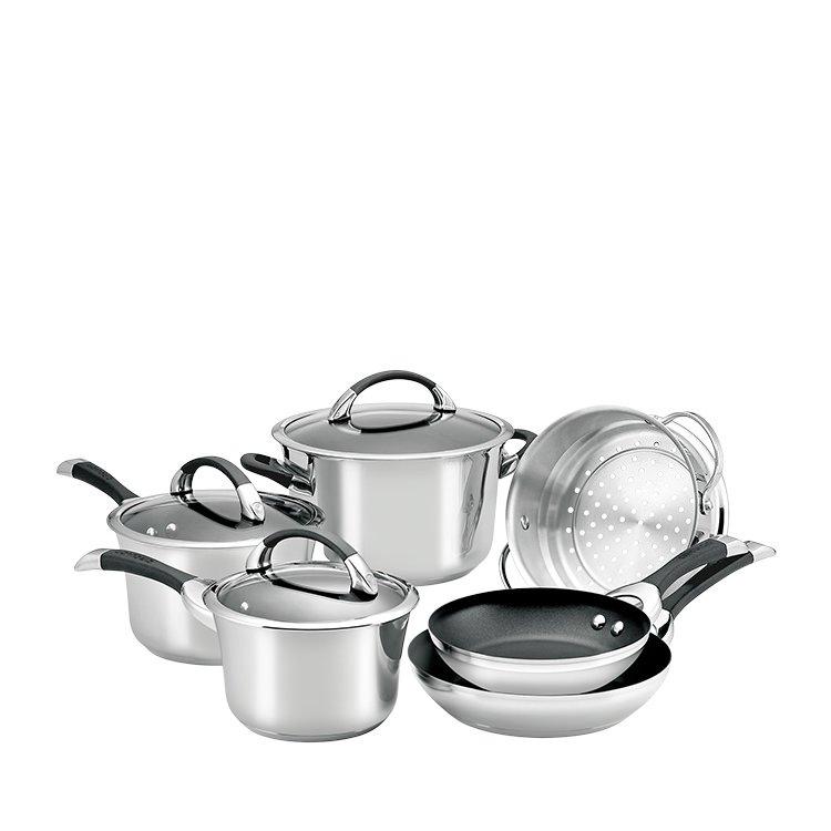 Circulon Symmetry S/S 6pc Cookware Set