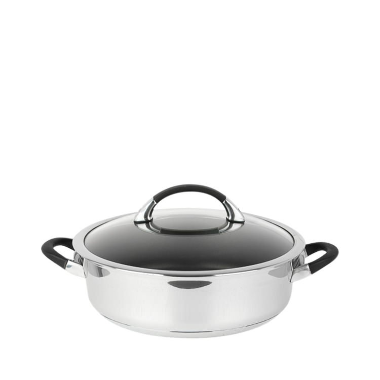Circulon Symmetry Stainless Steel Sauteuse 4.5L