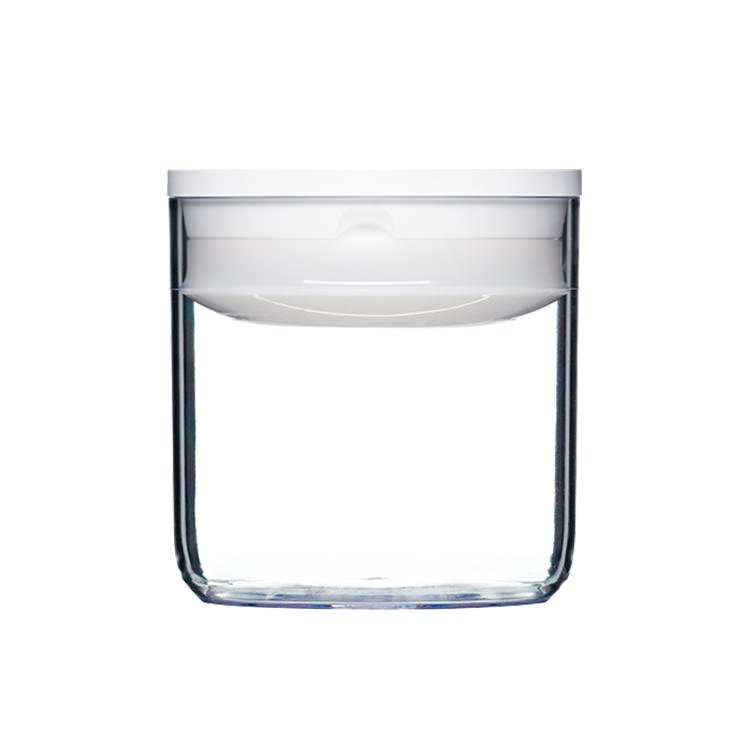 ClickClack Pantry Round Container 600ml White