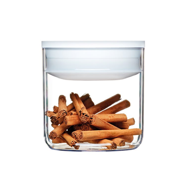 ClickClack Pantry Round Container 600ml White image #2