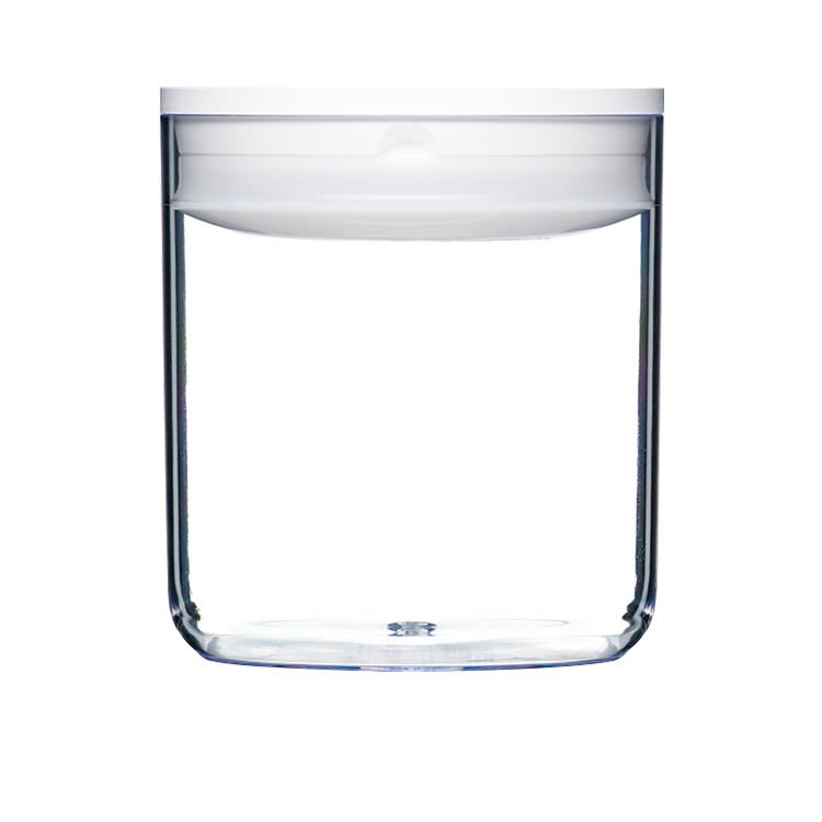 ClickClack Pantry Round Container 1.6L White
