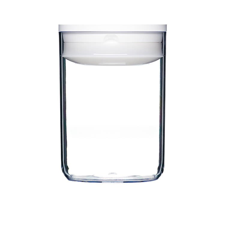 ClickClack Pantry Round Container 1L White