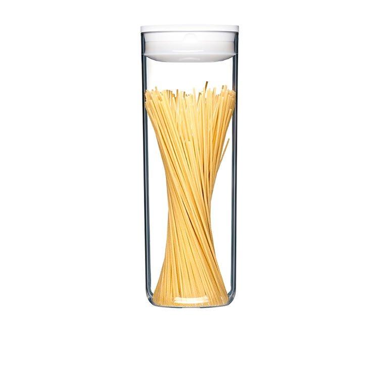 ClickClack Pantry Spaghetti Container 2.4L White