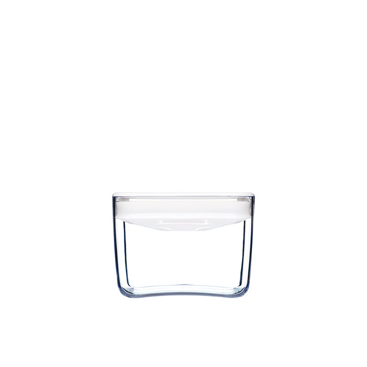 ClickClack Pantry Cube Container w/ White Lid 900ml