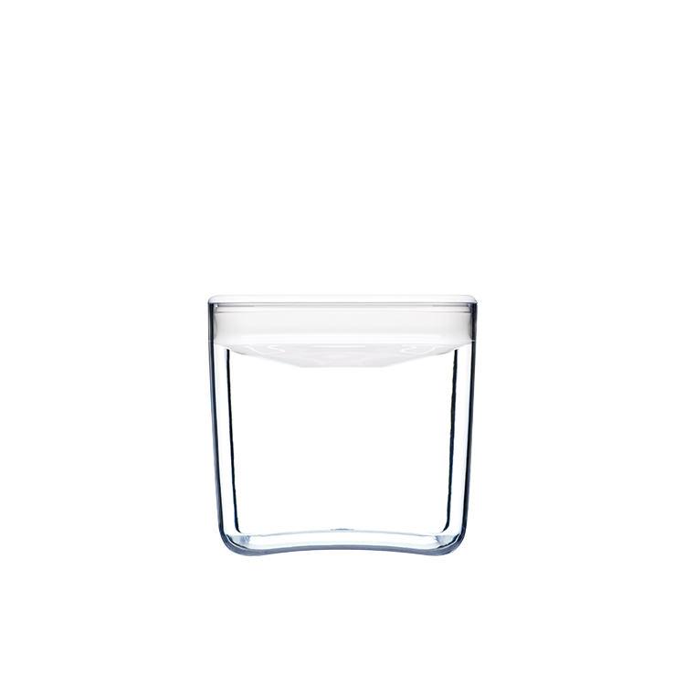 ClickClack Pantry Cube Container w/ White Lid 1.4L
