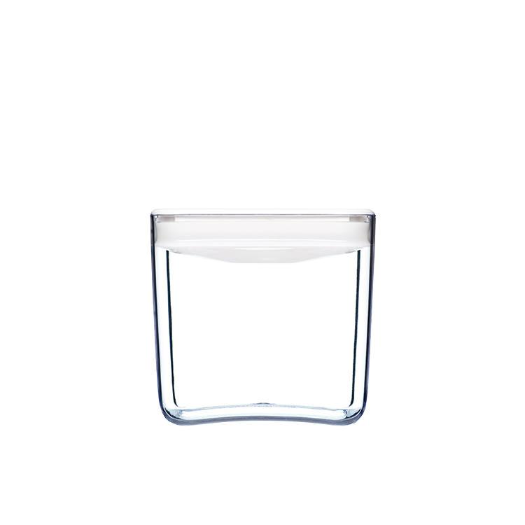 ClickClack Pantry Cube Container w/ White Lid 1.9L
