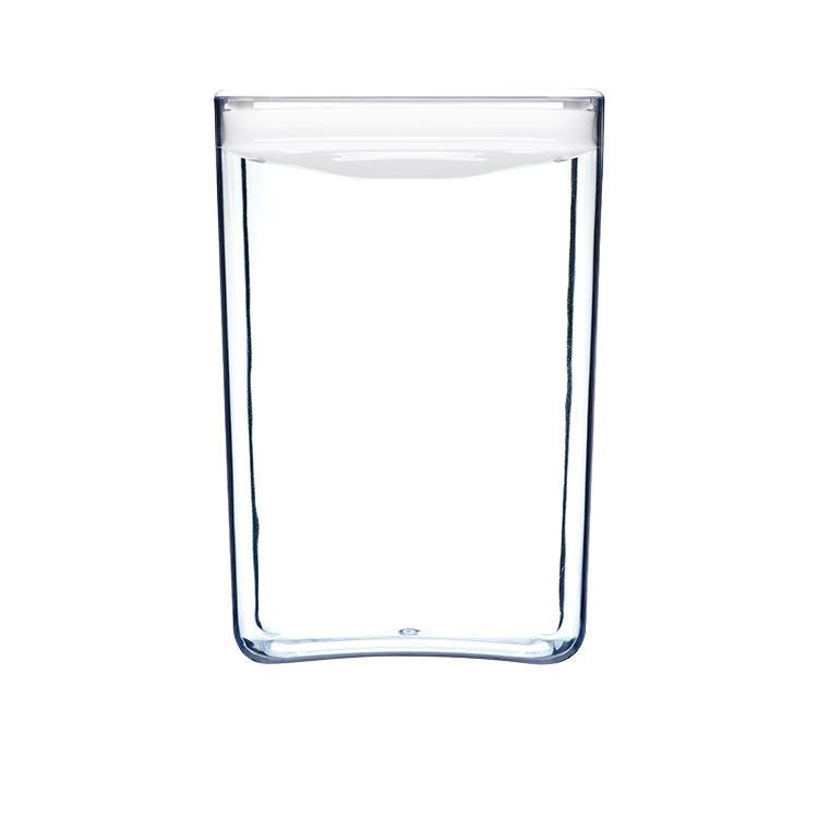 ClickClack Pantry Cube Container w/ White Lid 4.3L