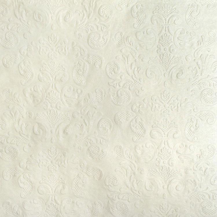 Coastal Classics 3ply Embossed Napkin 20pk White