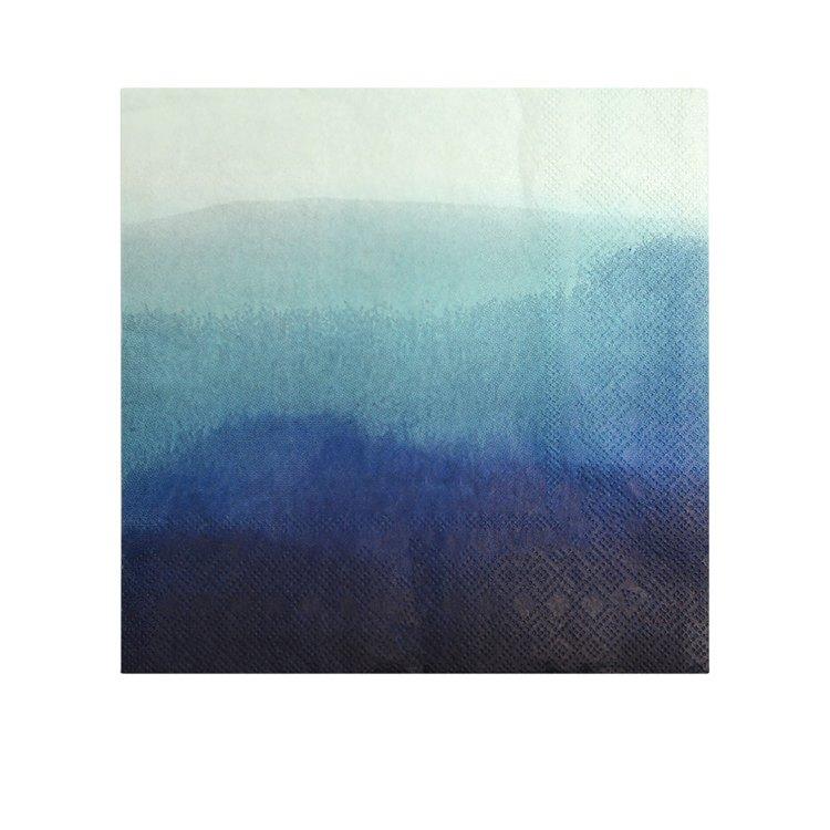 Coastal Classics Luncheon Napkin 20pk Tricolour Blue