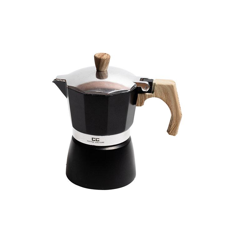 Coffee Culture Coffee Maker 3 Cup Black