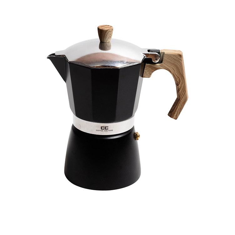 Coffee Culture Coffee Maker 6 Cup Black