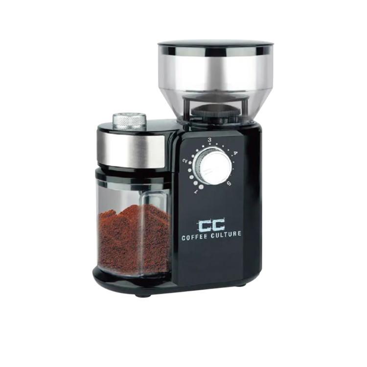 Coffee Culture Electric Burr Coffee Grinder Black