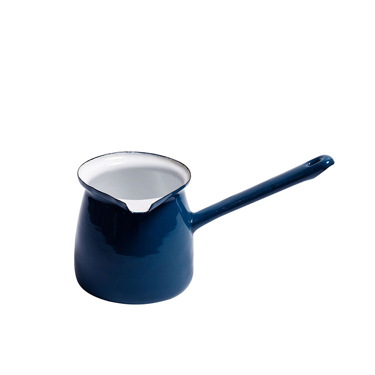 Coffee Culture Enamel Turkish Coffee Pot 300ml Blue