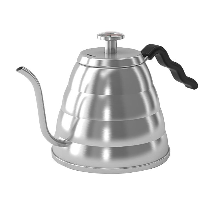 Coffee Culture Pour Over Stovetop Kettle w/ Thermometer  1.2L Stainless