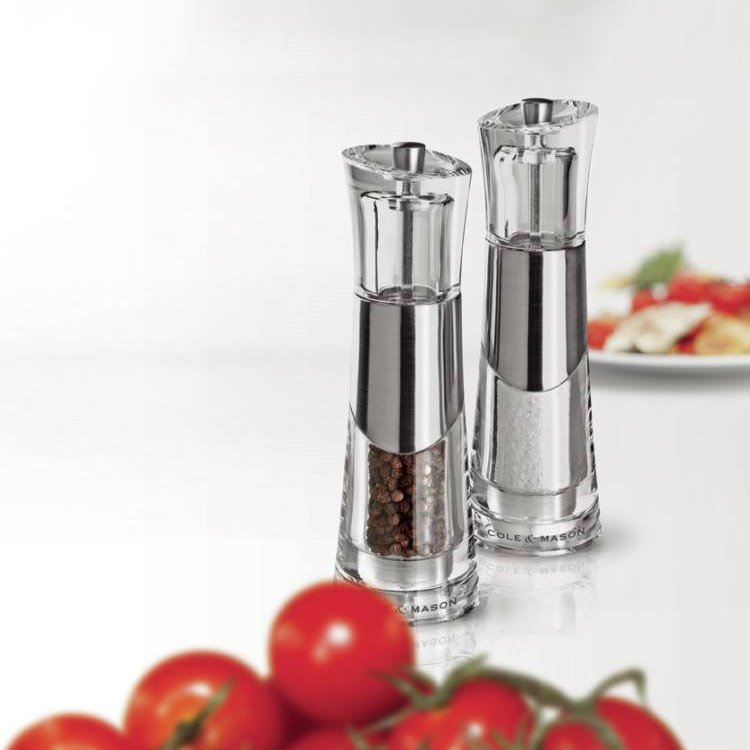 Cole & Mason Salt and Pepper Mill Bobbi Gift Set
