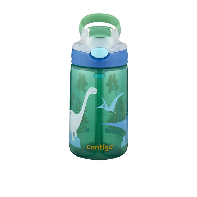 Contigo Gizmo Autospout Drink Bottle 420ml Jungle Dino