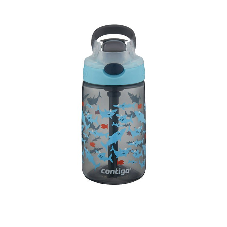 Contigo Gizmo Autospout Drink Bottle 420ml Shark